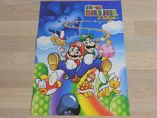 Super Mario Bros. Deluxe Poster aus Club Nintendo Zeitschrift