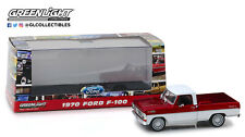 GreenLight 1/43 1970 Ford F-100 - Candy Apple Red and Wimbledon White 86318