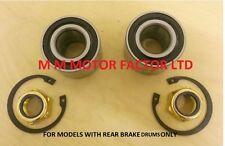 Ford Focus MK1 (98) 1.6 1.8 2.0 Cojinete de la rueda trasera de raíces Rodamientos Kit Par