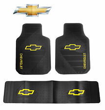 3 PC Chevy Factory Front & Runner Floor Mats ( Fits All Chevy Trucks and SUVs )