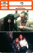 FICHE CINEMA : LINK - Stamp,Shue,Pinner,Franklin 1985