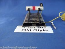 EE 7191 VG Marklin HO M Track Stop Block Prellbock Lighted w Long Wire OLD Style