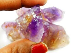 50.00 Cts  Natural Untreated Beautiful Translucent Bolivian Ametrine Rough