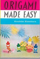 Origami Made Easy Kunihiko Kasahara Book Paper Craft