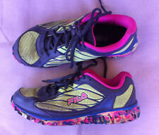FILA MULTI COLOURED LITE WEIGHT TRAINERS SIZE: 8 US GC