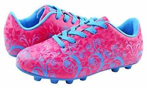 Vizari Frost Soccer Cleat Pink/Blue - US Size 1.5