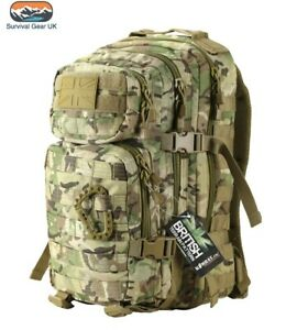 Kombat BTP Small Tactical Assault Back Pack Daysack 28 Litre Cadet Airsoft ATF