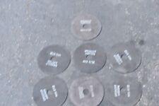"7pc Spedecut Abrasive Cutting Wheels A46Tbxx- 7"" x 1-1/4 arbor x 1/16"
