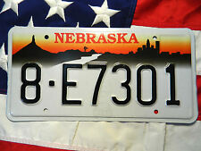 NEBRASKA license licence plate plates USA NUMBER AMERICAN REGISTRATION