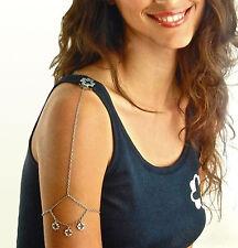 Bracciabliss Bracciale da spalla BLISS con tre pendenti K12103 acciaio + Canotta