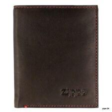 ZIPPO Geldbörse Herren 2005121   Hochformat Leder   Portemonnaie Geldbeutel