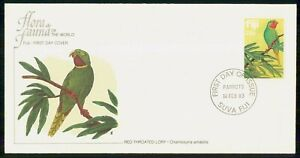 Mayfairstamps FIJI FDC 1983 COVER RED THROATED LORY wwi85701