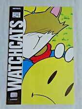 Watchcats No. 1  Harrier Comics U.K. Import July 1987 First Pressing NM (9.4)