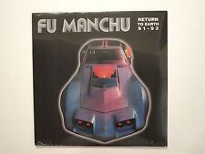 FU MANCHU RETURN TO EARTH 91-93 LP NEW SEALED KYUSS NEBULA