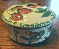 William James Portobello Round Covered Trinket Box