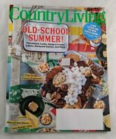 Country Living Magazine July/August 2020 Issue Old-School Summer Home Decorate