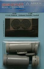 Aires 1/48 F-14A Tomcat Exhaust Nozzles Varied for Hobby Boss kit # 4518