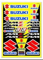 Trim Sticker Kit Fits Suzuki JR50  LT50 DRZ70 DS80 JR80 LT80 LTZ90 RV90 DRZ110