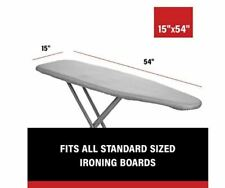 Epica Silicone Coated Ironing Board Cover Resists Scorching and Staining - 15.