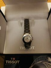 Genius Tissot L520(T112..)Women's Stainless Steel Silver ,Displayed Brand New