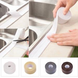 Bathtub Caulk Seal Strip Kitchen Sink Bathroom Waterproof Self-adhesive Tape