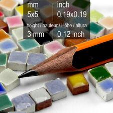 Micro Mosaic tiles 3/16inch 5x5mm, 1000 pcs, (Us100700)