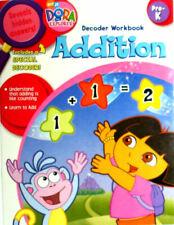 Dora The Explorer Addition Workbook With Decoder