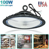 UFO High Bay LED Shop Light 100/200/150W for Commercial Warehouse Garage Factory