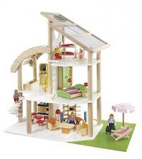 howa Strandvilla / Puppenhaus mit Möbeln u. Puppen 7014
