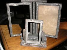 2 Antique Vintage Picture Frames~1 Double Swivel Swing 1 Single Swivel