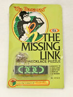 """VINTAGE 1982 IDEAL """"GO BANANAS"""" THE MISSING LINK PUZZLE - BRAND NEW"""