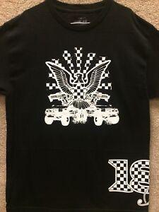 "187 Inc Men T-shirt ""Eagle"" -- Color Black"