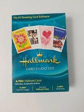 Hallmark CardStudio 2011 Deluxe Software - BRAND NEW 11,000+ Hallmark Cards J186