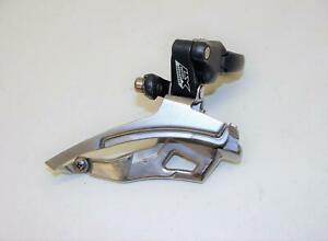 ~ Shimano Deore XT FD-M571 Mega 9 Speed Front Derailleur 31.8 Top Pull ~