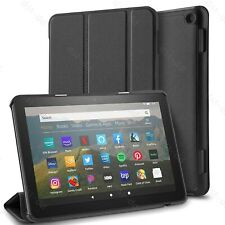 For Amazon Fire HD 8/8 Plus 10th Gen 2020 Leather Stand Case / Screen Protector