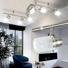 LED DESIGN Decken Lampe Wohnzimmer Leuchte Chrom Strahler 6 Er Spot Beleuchtung