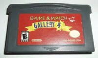 Game & Watch Gallery 4 (Nintendo Game Boy Advance, 2002) **CARTRIDGE ONLY**