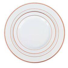 Exquisite Reflective Plastic Plates-60 Peices Premium Heavyweight Plastic