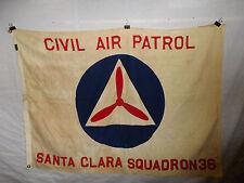 flag684 WW2 US CAP Civil Air Patrol Santa Clara Squadron flag W9D