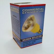 LOT of 6 Commercial Extended Life Halogen reflectors 120v E17 or E26 base