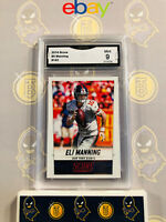 2014 Score Eli Manning #143 - 9 MINT GMA Graded NFL Football Card