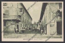 MILANO ABBIATEGRASSO 12 ALBERGO CROCE DI MALTA - BIRRA ITALIA PILSEN Cartolina