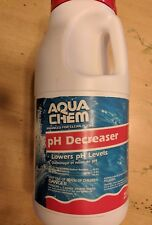 Aqua Chem pH Decreaser for Swimming Pools 5 lb Easy Pour Canister New