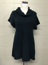 Womens New Directions Navy Blue Cowl Neck Knit Sweater Dress, Size X-Large PXL