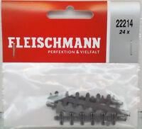 FLEISCHMANN 22214 - Spur N Isolier-Schienenverbinder - NEU in OVP