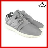 Adidas Women Tubular Trainers UK 5 / 38 Running Metallic Silver Sneakers Viral