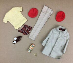 Vintage Mattel Ken CASUALS & RALLY DAY #782 #788 Coat, Hat, Map, Keys etc.
