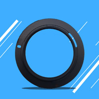 Black M42-PK Mount Adapter Ring For Pentax Camera M42 Lens To PK K Mounts New