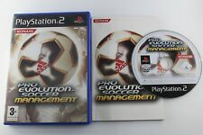 PLAY STATION 2 PS2 PRO EVOLUTION SOCCER MANAGEMENT COMPLETO PAL ESPAÑA