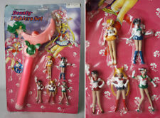 RARE VINTAGE 90'S BEAUTY FIGHTERS SAILOR MOON SCEPTRE & FIGURES KO NEW SEALED !